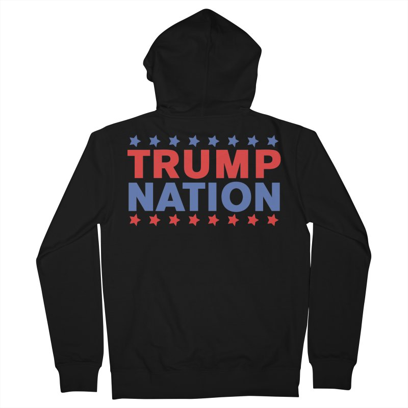 Trump Nation Men's French Terry Zip-Up Hoody by Trump Nation