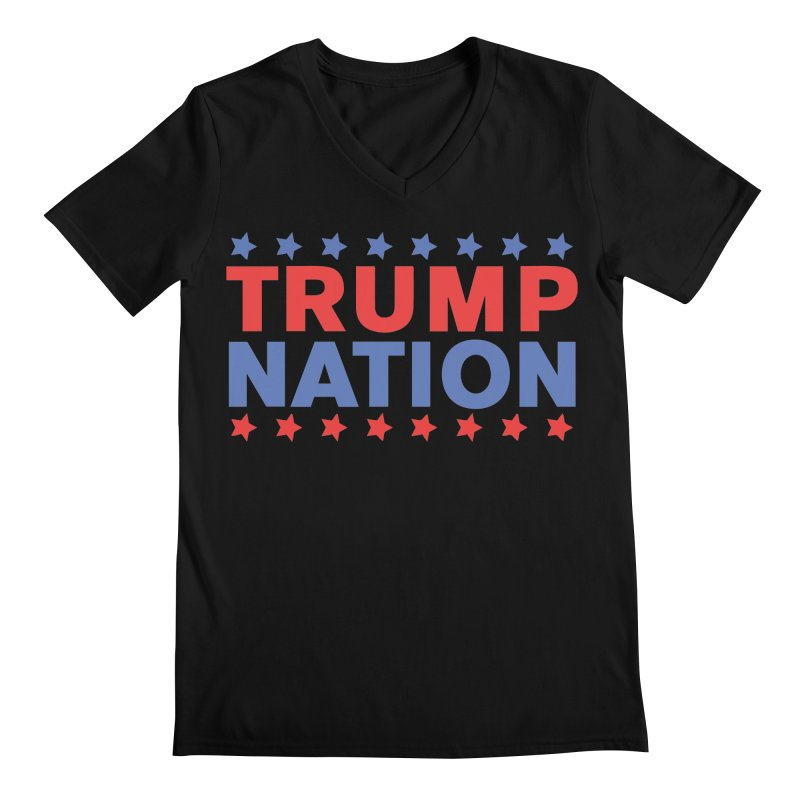 Trump Nation Men's Regular V-Neck by Trump Nation