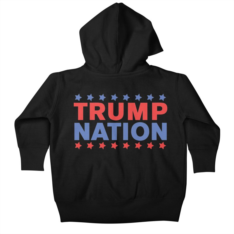 Trump Nation Kids Baby Zip-Up Hoody by Trump Nation