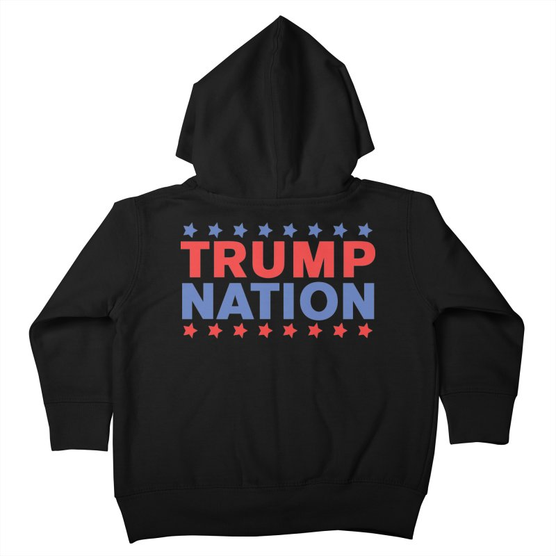 Trump Nation Kids Toddler Zip-Up Hoody by Trump Nation