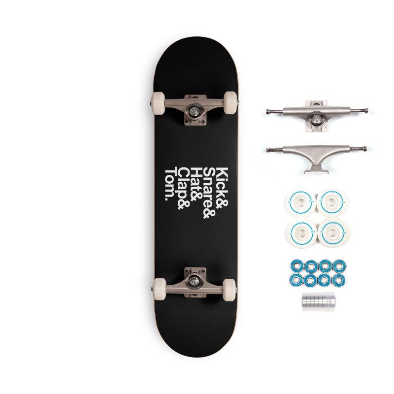 Drums Accessories Skateboard by Tru Musica Merchandise