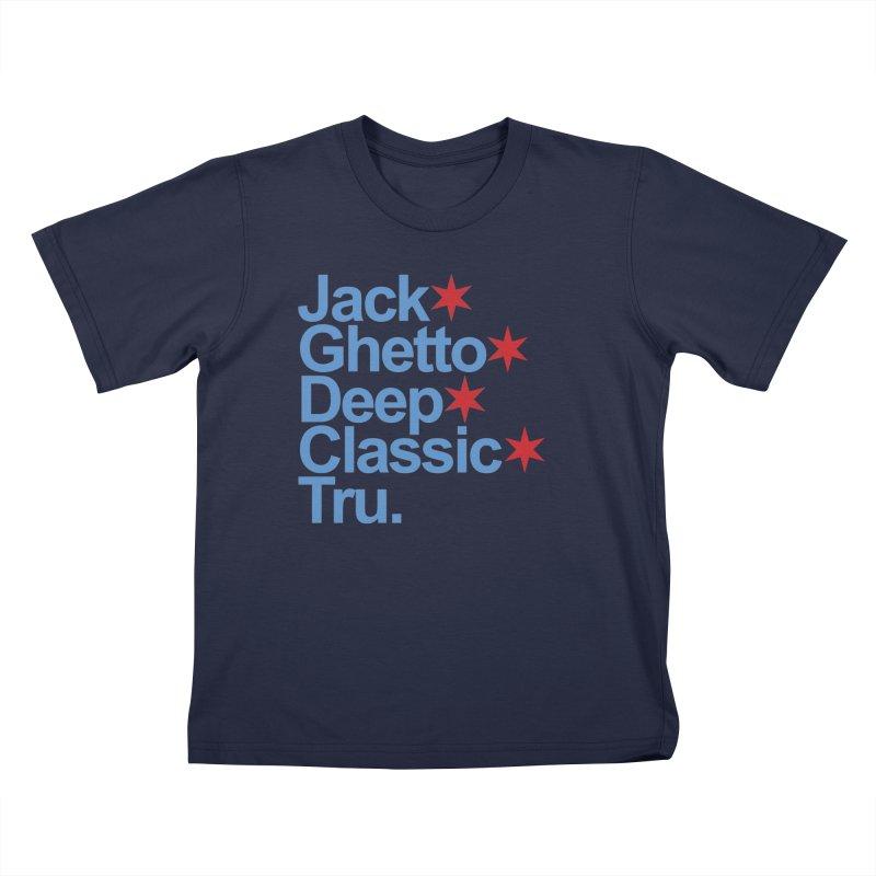 Chicago Jack Kids T-Shirt by Tru Musica Merchandise