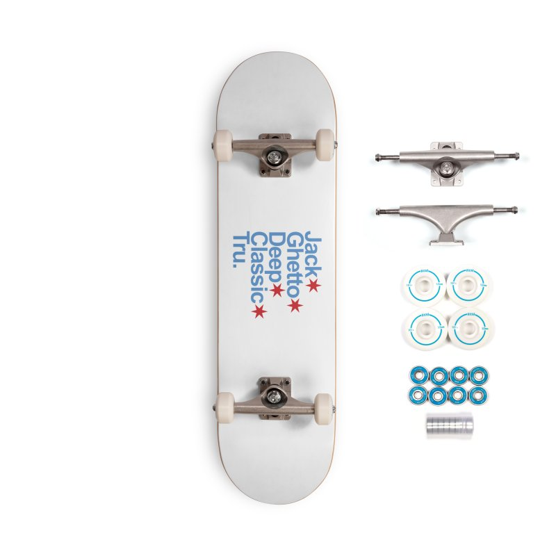 Chicago Jack Accessories Skateboard by Tru Musica Merchandise