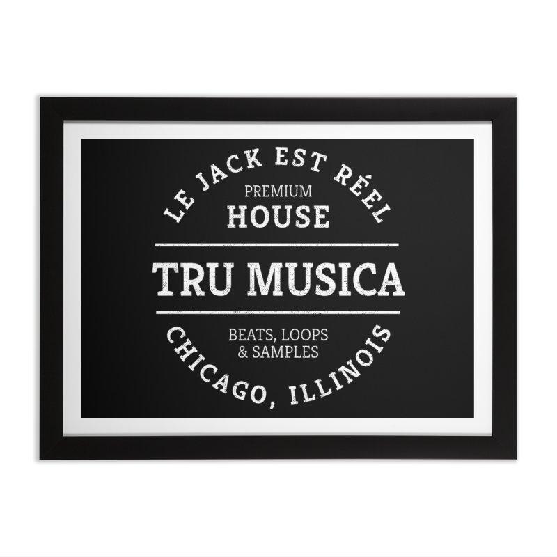 Tru Musica Premium House Home Framed Fine Art Print by Tru Musica Merchandise