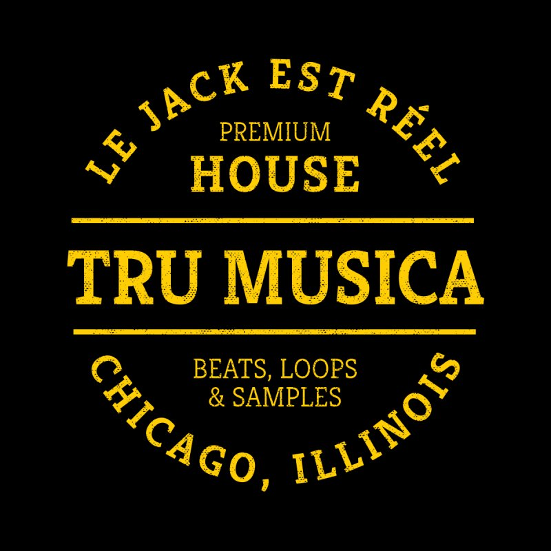 Tru Musica Premium House Yellow Kids Pullover Hoody by Tru Musica Merchandise