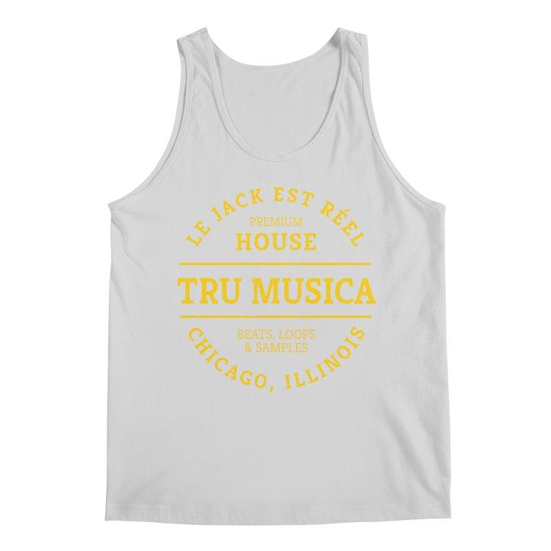 Tru Musica Premium House Yellow Men's Tank by Tru Musica Merchandise