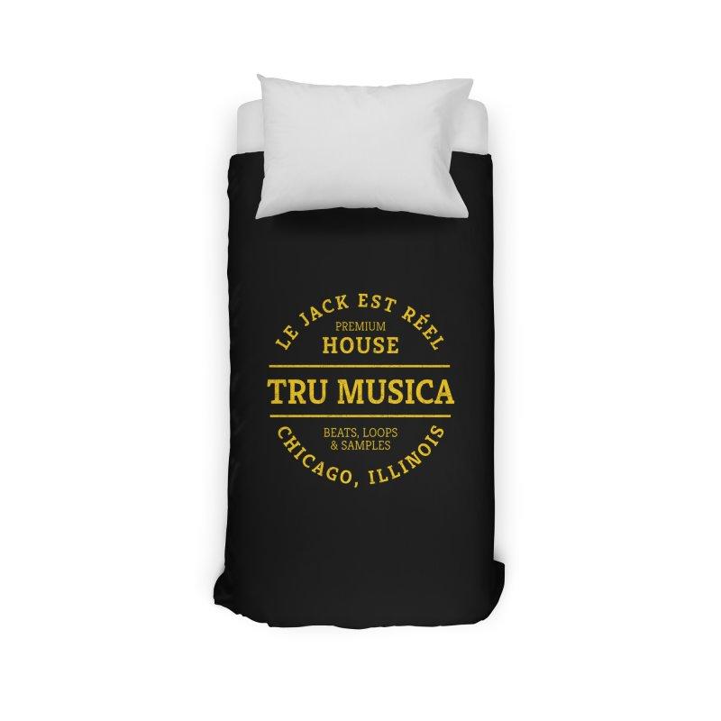 Tru Musica Premium House Yellow Home Duvet by Tru Musica Merchandise