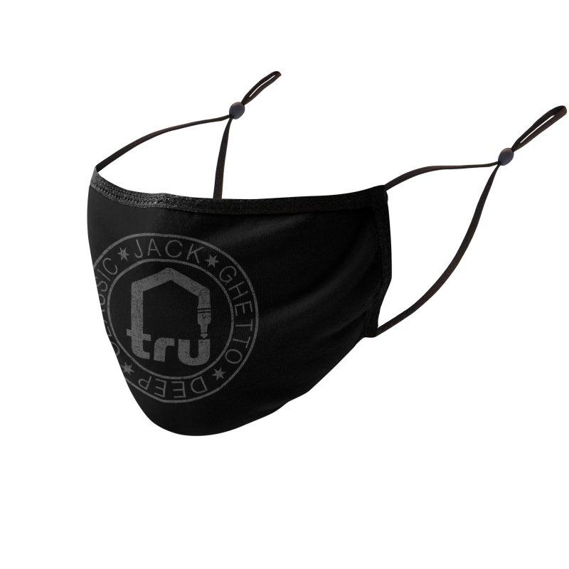 Tru Face Mask Grey Accessories Face Mask by Tru Musica Merchandise