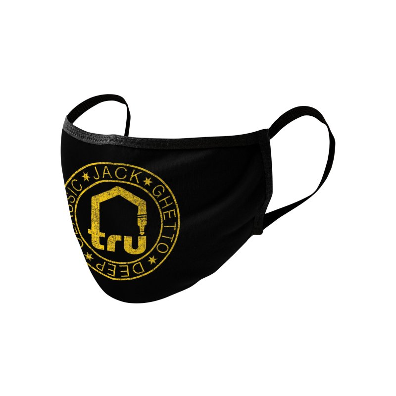 Tru Face Mask Yellow Accessories Face Mask by Tru Musica Merchandise