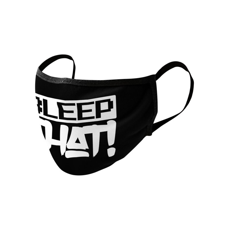 BLEEPTHAT! Facemask White Accessories Face Mask by Tru Musica Merchandise