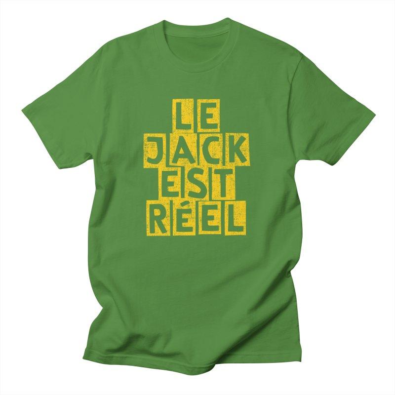 Le Jack Est Réel Men's T-Shirt by Tru Musica Merchandise