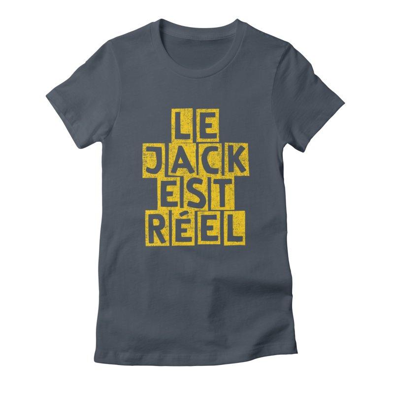 Le Jack Est Réel Women's T-Shirt by Tru Musica Merchandise