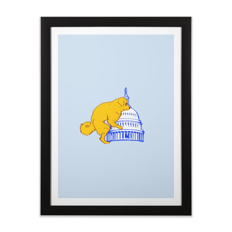 hump da house Home Framed Fine Art Print by truthpup's Artist Shop