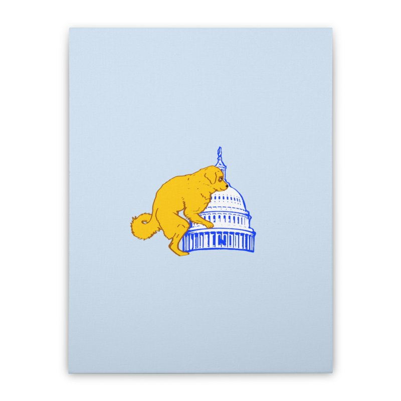 hump da house Home Stretched Canvas by truthpup's Artist Shop