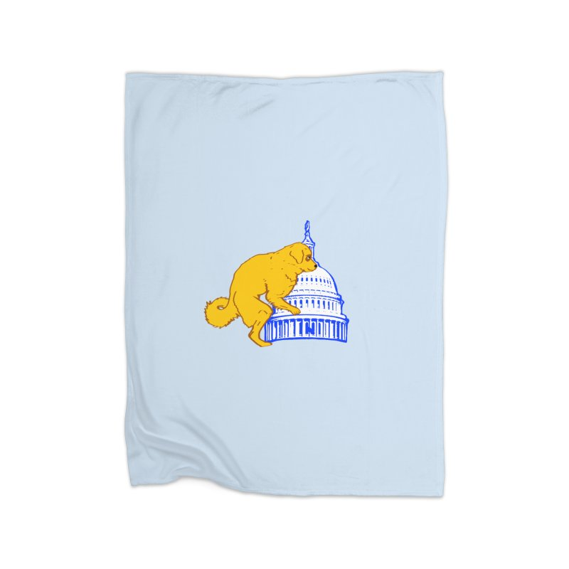 hump da house Home Fleece Blanket Blanket by truthpup's Artist Shop