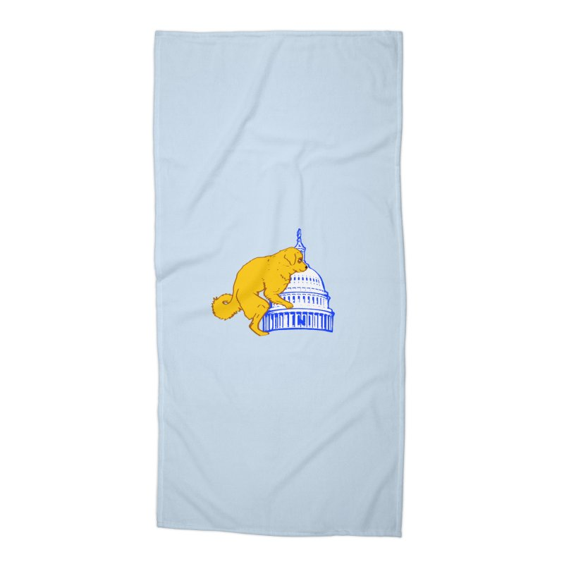 hump da house Accessories Beach Towel by truthpup's Artist Shop