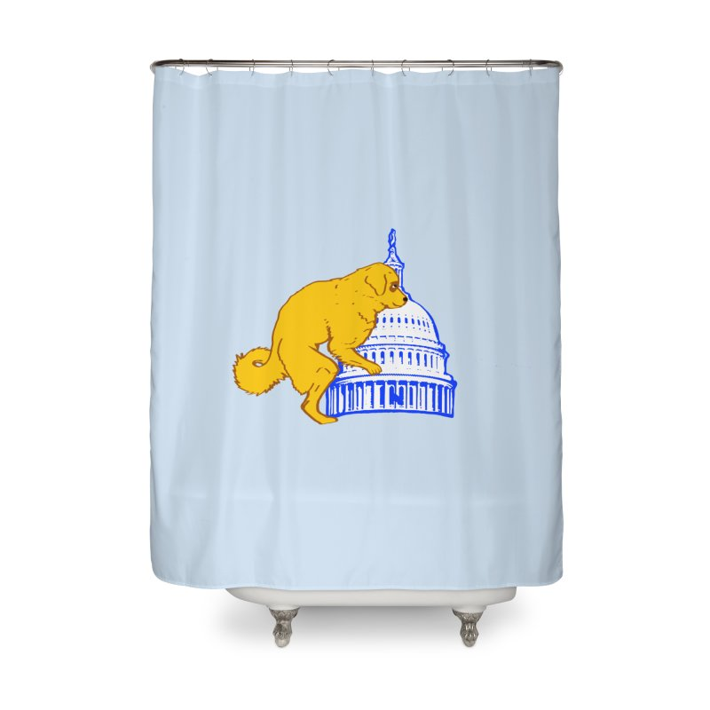 hump da house Home Shower Curtain by truthpup's Artist Shop