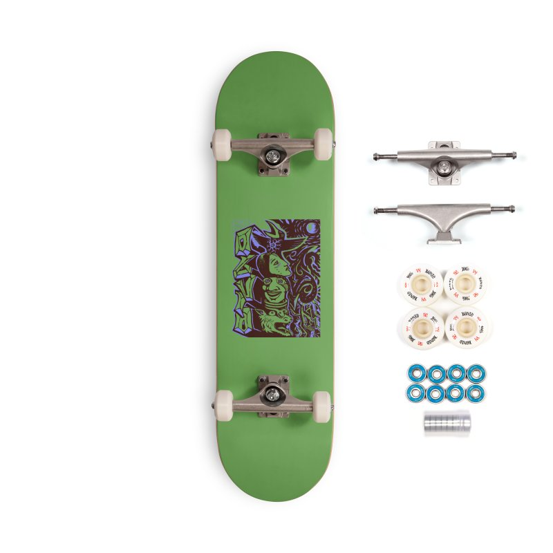 totem blue Accessories Complete - Premium Skateboard by truthpup's Artist Shop