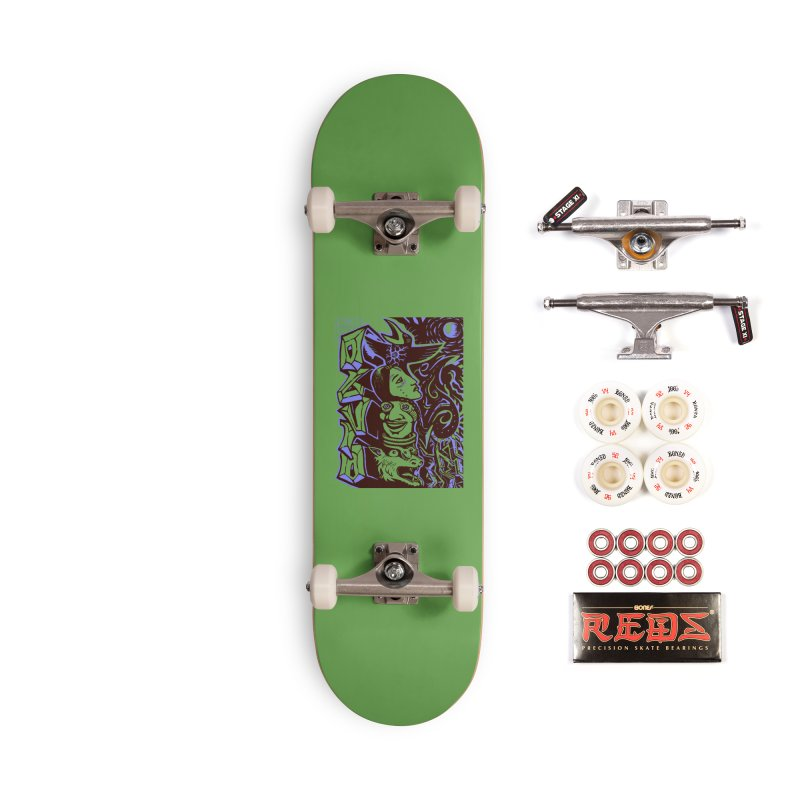 totem blue Accessories Complete - Pro Skateboard by truthpup's Artist Shop
