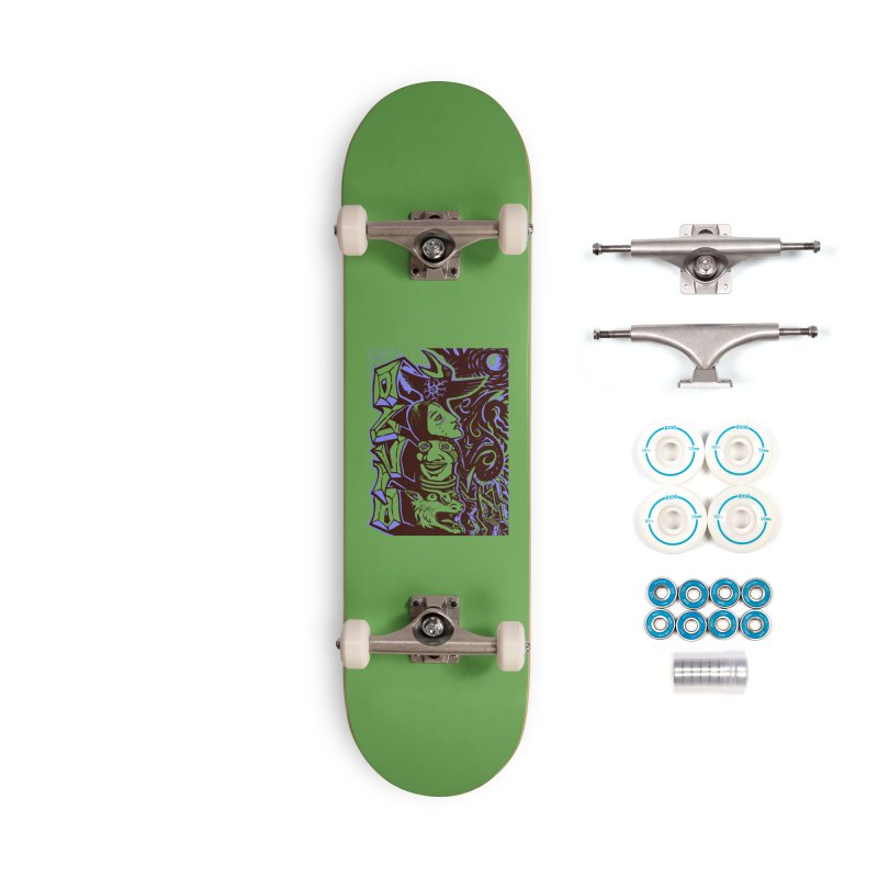 totem blue Accessories Complete - Basic Skateboard by truthpup's Artist Shop