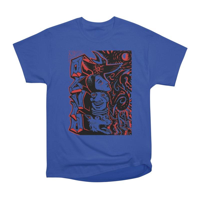totem red Women's Heavyweight Unisex T-Shirt by truthpup's Artist Shop