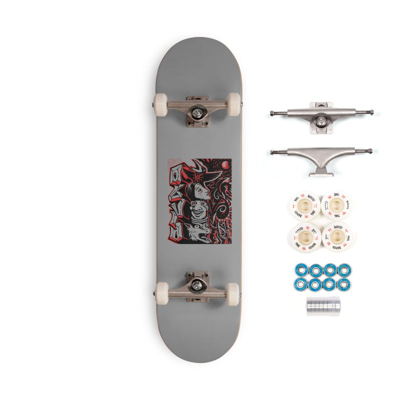 totem red Accessories Complete - Premium Skateboard by truthpup's Artist Shop