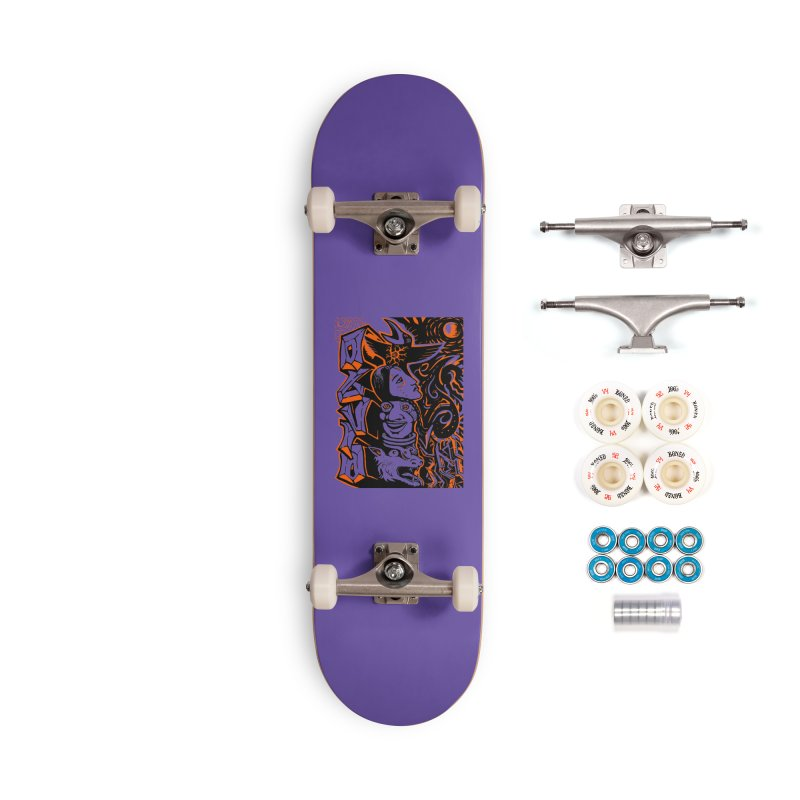 TOTEM ORANGE Accessories Complete - Premium Skateboard by truthpup's Artist Shop
