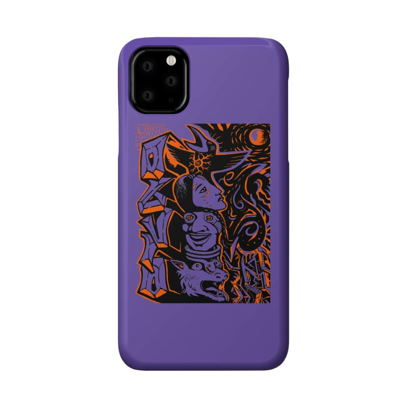 TOTEM ORANGE Accessories Phone Case by truthpup's Artist Shop