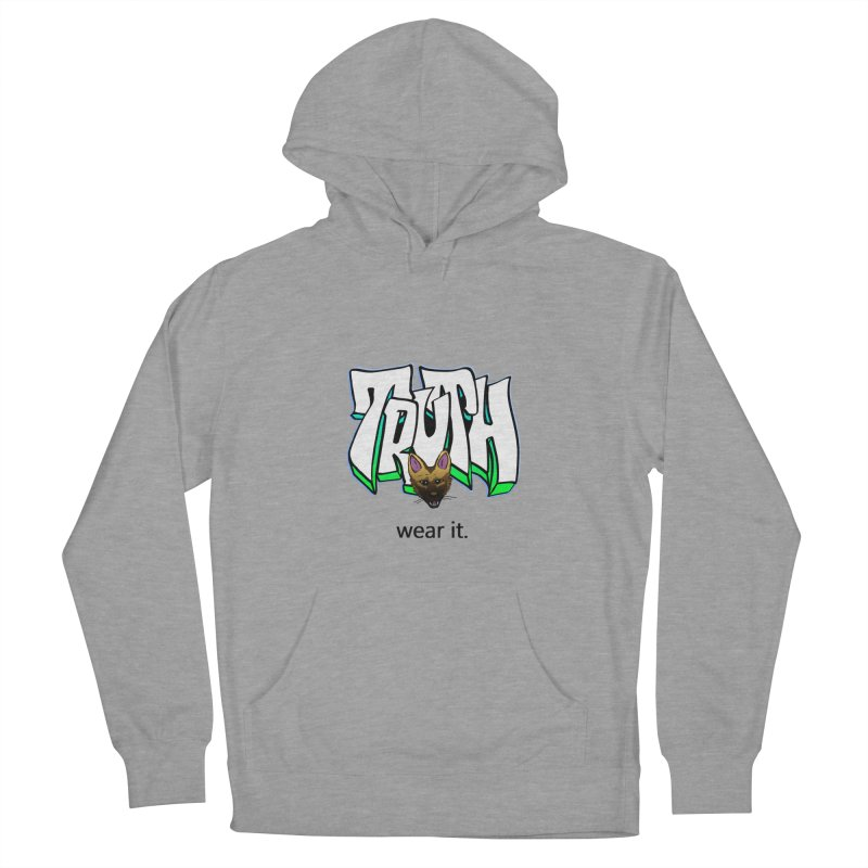 Truth and pup Men's Pullover Hoody by truthpup's Artist Shop