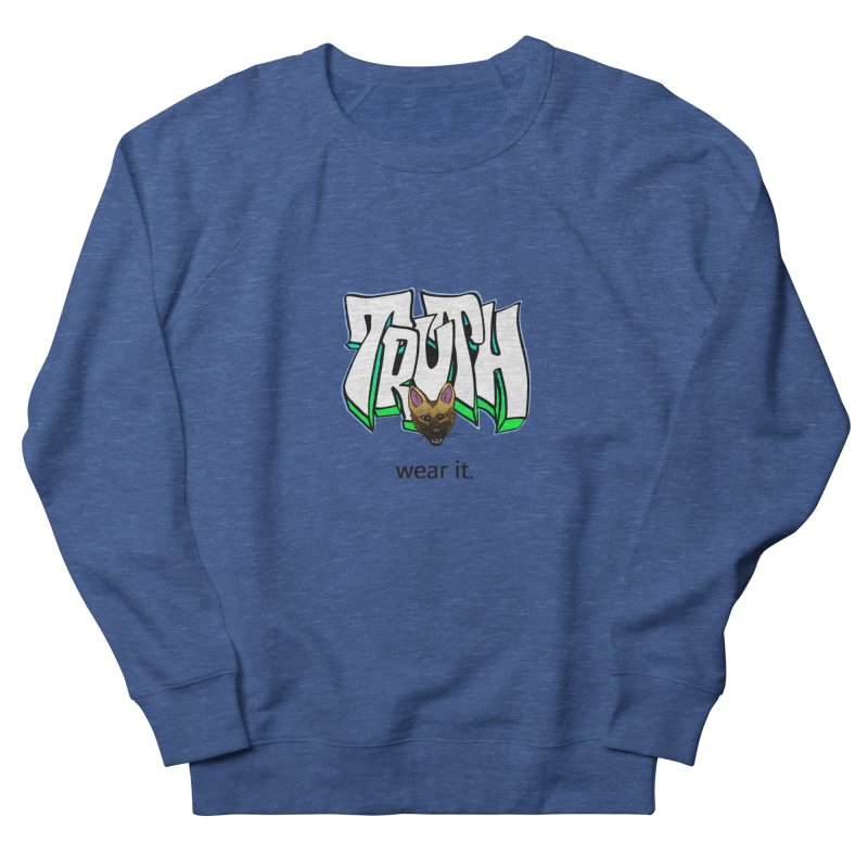Truth and pup Men's Sweatshirt by truthpup's Artist Shop