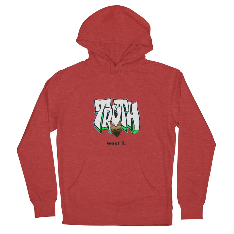 Truth and pup Women's Pullover Hoody by truthpup's Artist Shop