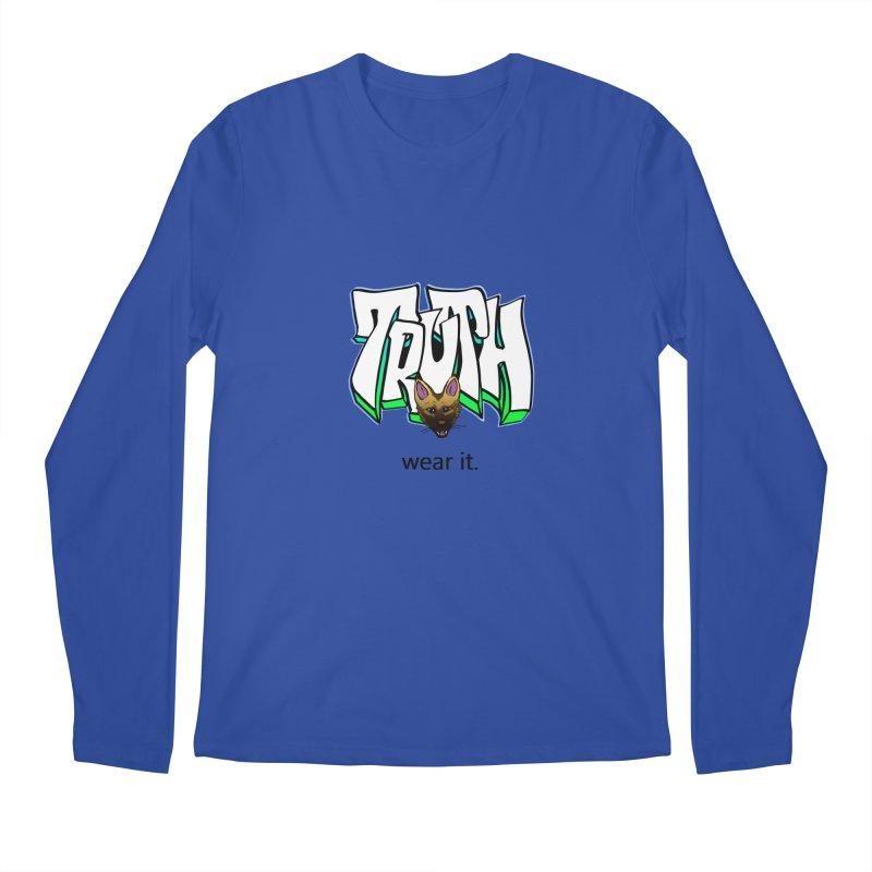 Truth and pup Men's Regular Longsleeve T-Shirt by truthpup's Artist Shop