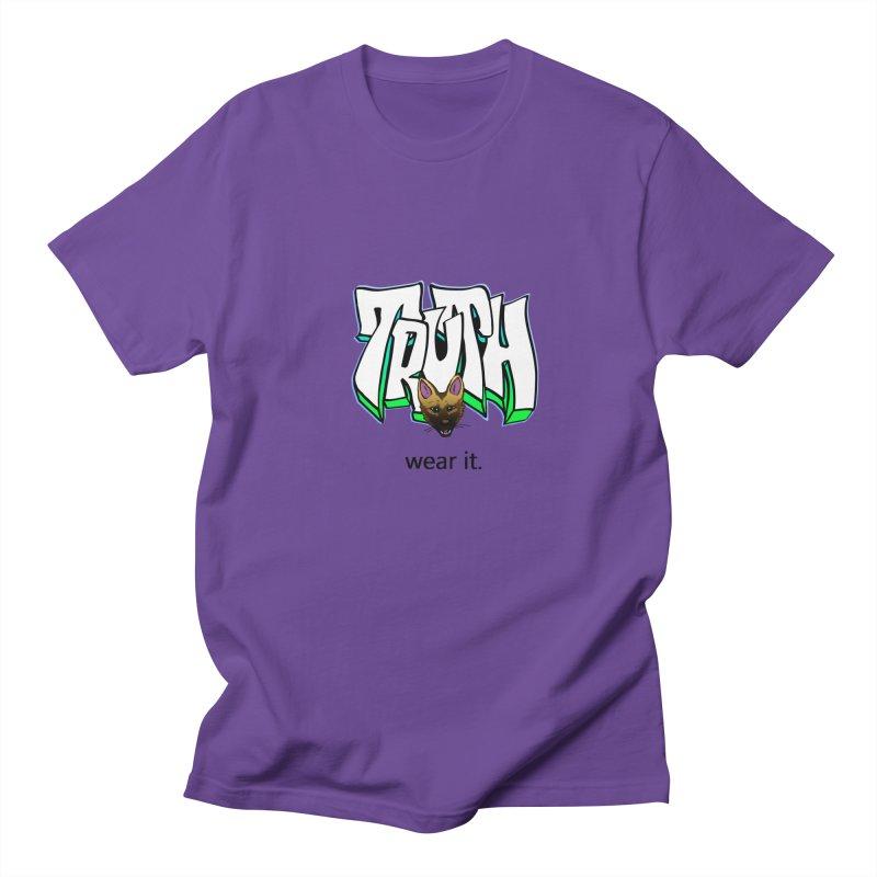 Truth and pup Women's Regular Unisex T-Shirt by truthpup's Artist Shop