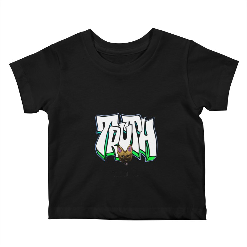 Truth and pup Kids Baby T-Shirt by truthpup's Artist Shop