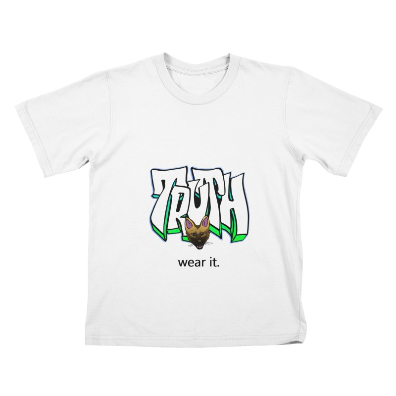 Truth and pup Kids T-Shirt by truthpup's Artist Shop