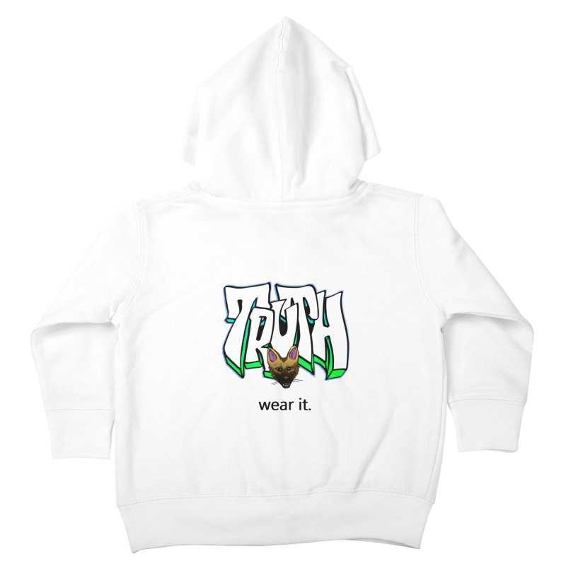 Truth and pup Kids Toddler Zip-Up Hoody by truthpup's Artist Shop