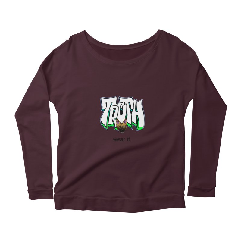 Truth and pup Women's Longsleeve T-Shirt by truthpup's Artist Shop