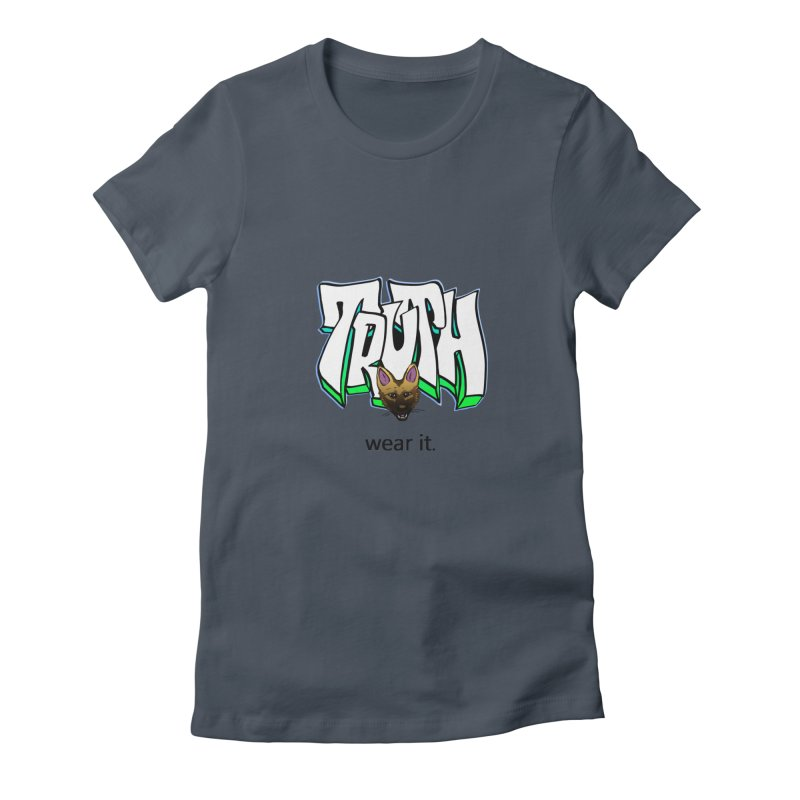 Truth and pup Women's T-Shirt by truthpup's Artist Shop