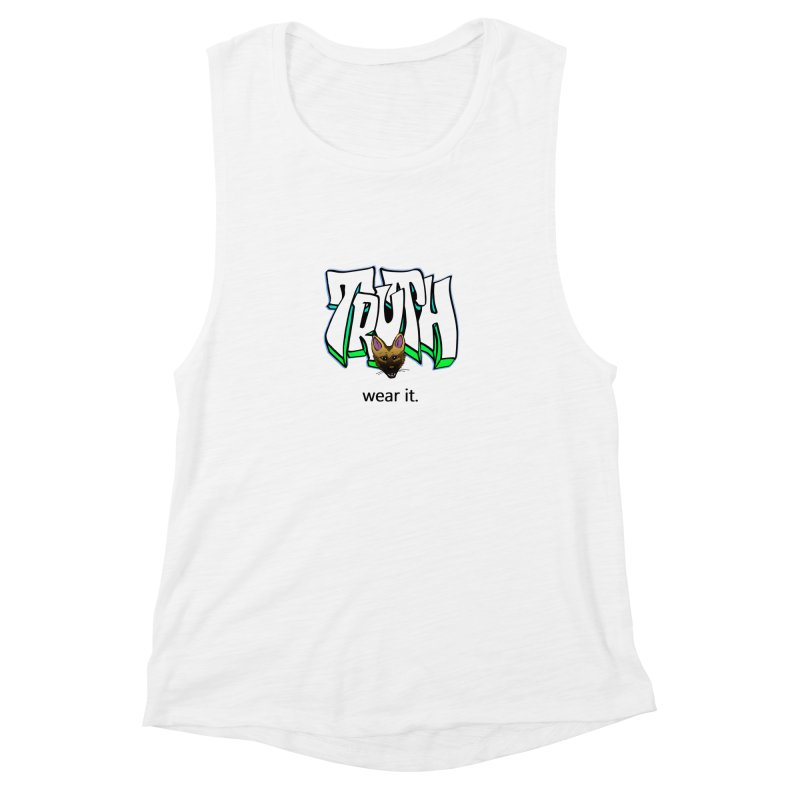 Truth and pup Women's Muscle Tank by truthpup's Artist Shop