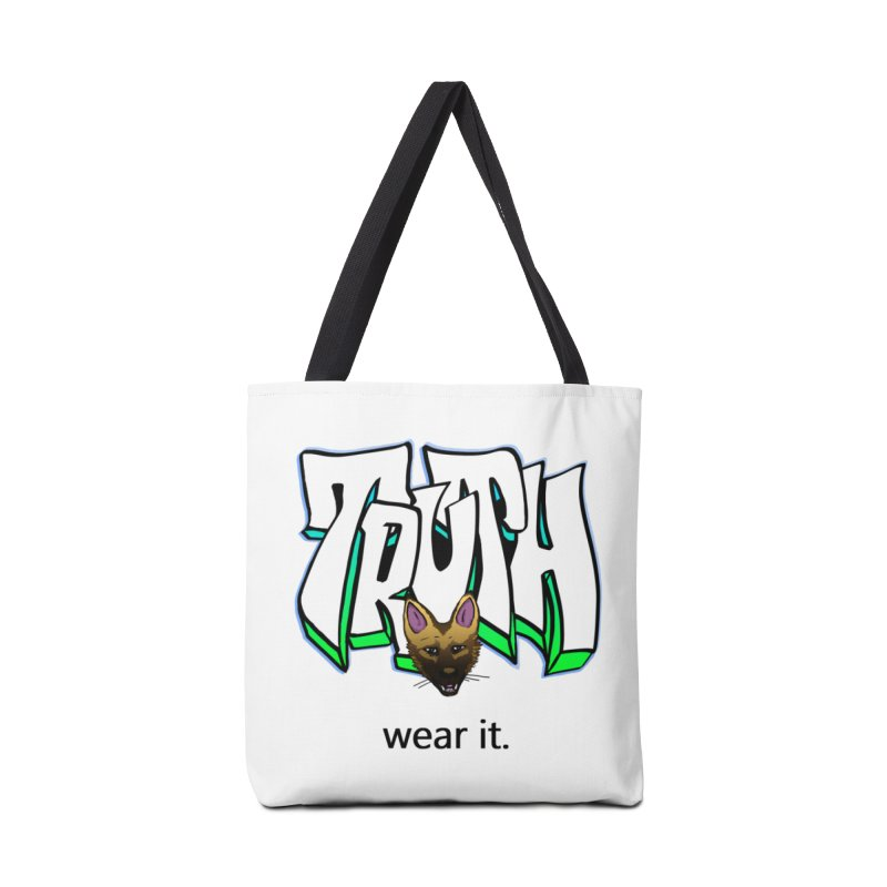 Truth and pup Accessories Tote Bag Bag by truthpup's Artist Shop