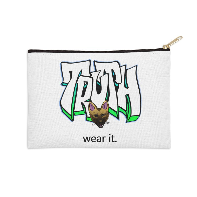 Truth and pup Accessories Zip Pouch by truthpup's Artist Shop