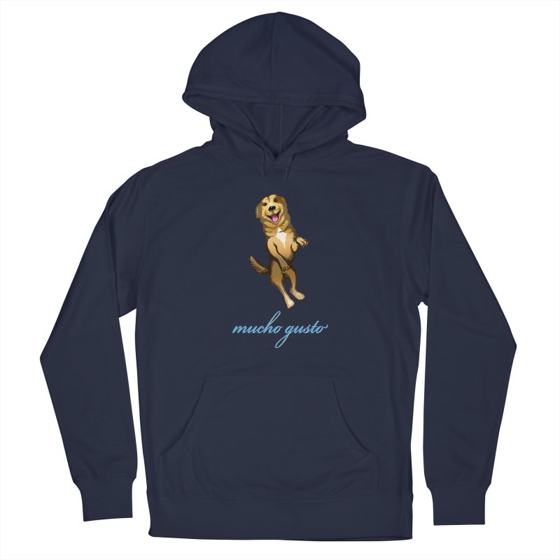 Mucho Gusto Men's Pullover Hoody by truthpup's Artist Shop