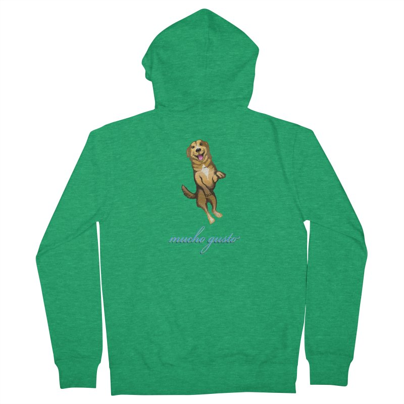 Mucho Gusto Men's Zip-Up Hoody by truthpup's Artist Shop