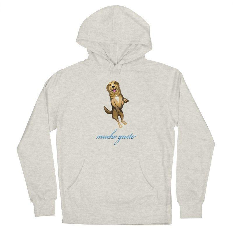 Mucho Gusto Men's French Terry Pullover Hoody by truthpup's Artist Shop