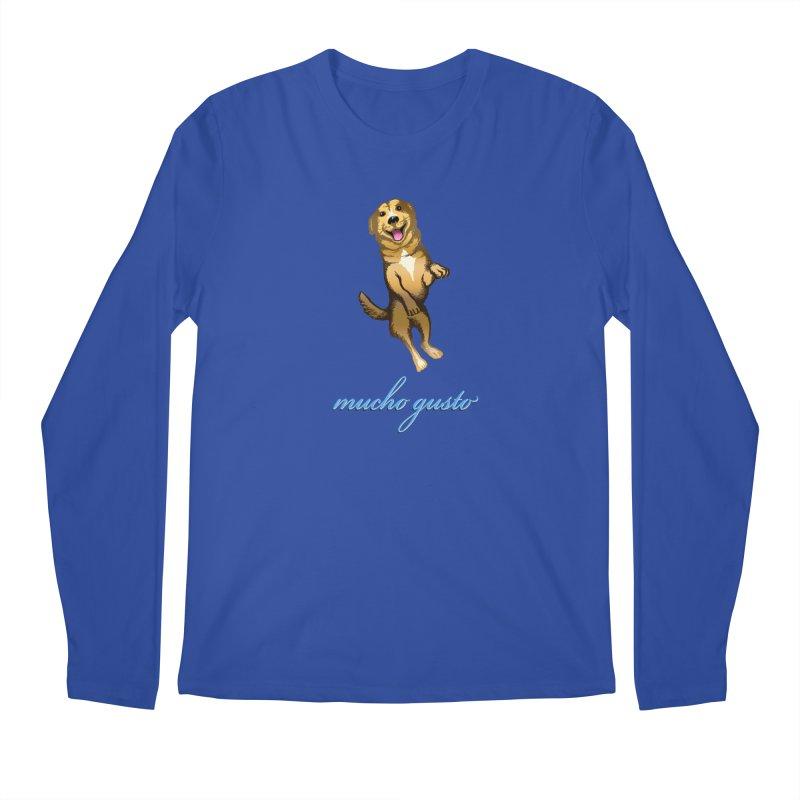 Mucho Gusto Men's Regular Longsleeve T-Shirt by truthpup's Artist Shop