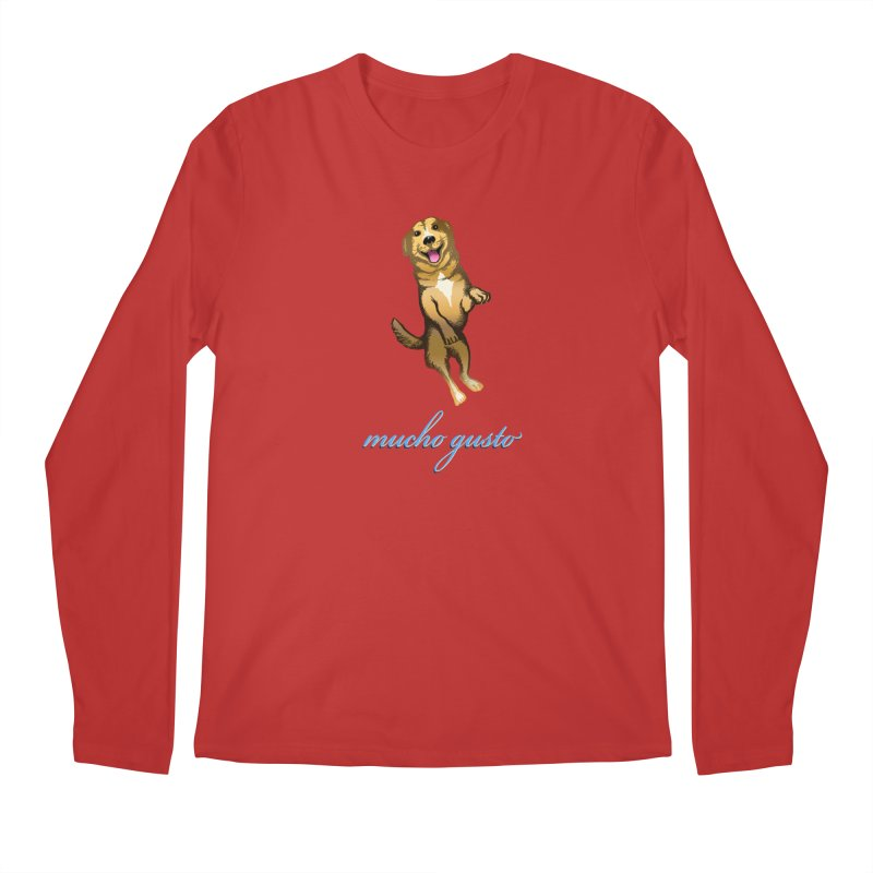 Mucho Gusto Men's Regular Longsleeve T-Shirt by truthpup's Artist Shop