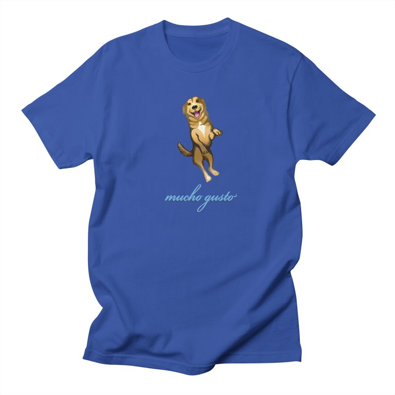Mucho Gusto Men's Regular T-Shirt by truthpup's Artist Shop