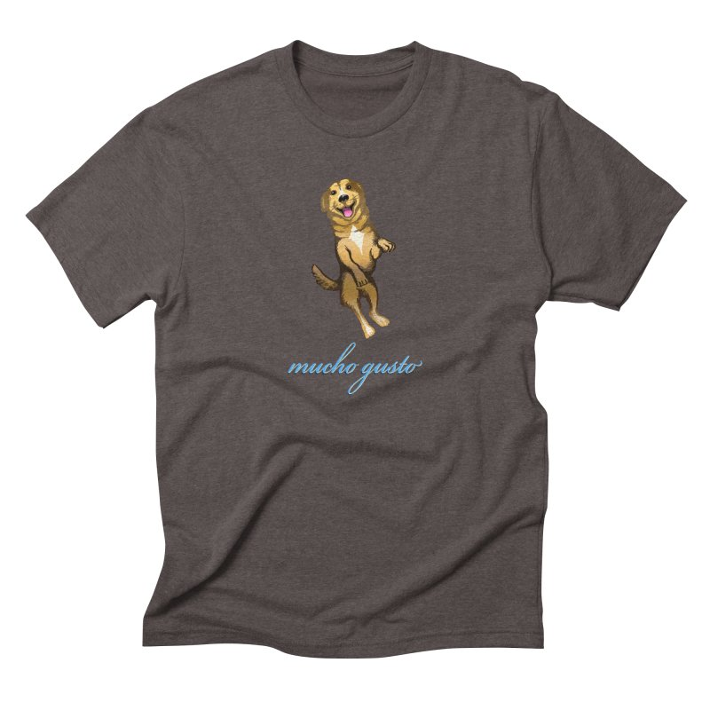 Mucho Gusto Men's Triblend T-Shirt by truthpup's Artist Shop