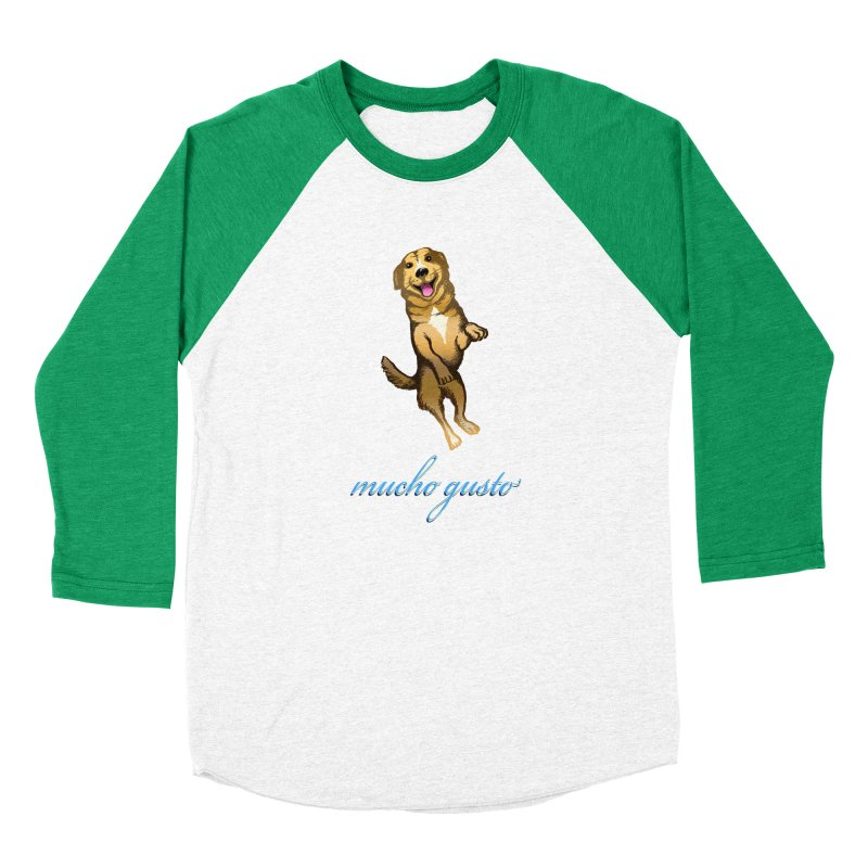 Mucho Gusto Women's Baseball Triblend Longsleeve T-Shirt by truthpup's Artist Shop