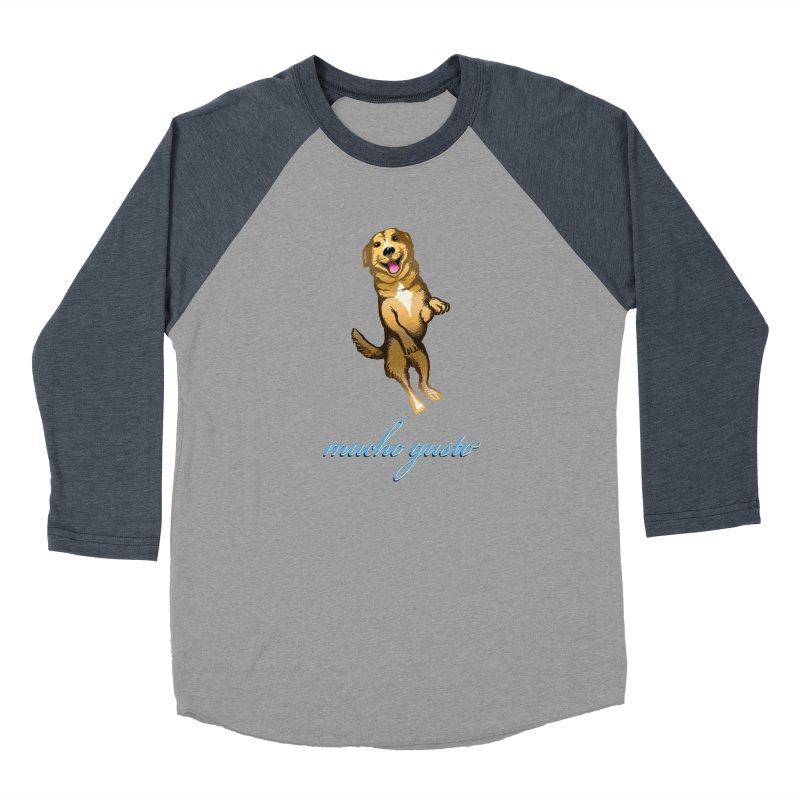Mucho Gusto Men's Baseball Triblend T-Shirt by truthpup's Artist Shop